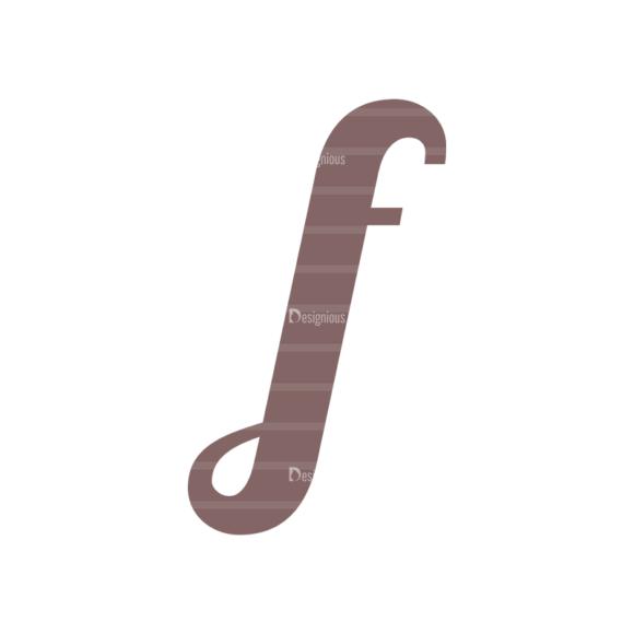 Typographic Characters Vector Set 3 Vector F typographic characters vector set 3 vector f