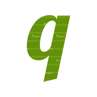 Typographic Characters Vector Set 3 Vector Q Clip Art - SVG & PNG vector