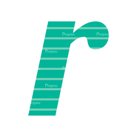 Typographic Characters Vector Set 3 Vector R typographic characters vector set 3 vector r
