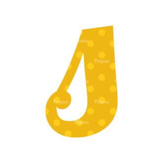 Typographic Characters Vector Set 3 Vector S Clip Art - SVG & PNG vector