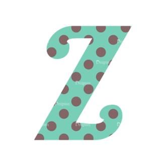 Typographic Characters Vector Set 3 Vector Z Clip Art - SVG & PNG vector