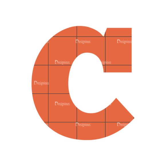 Typographic Characters Vector Set 4 Vector C typographic characters vector set 4 vector C
