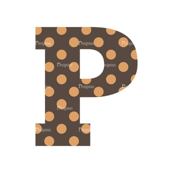 Typographic Characters Vector Set 4 Vector P typographic characters vector set 4 vector P