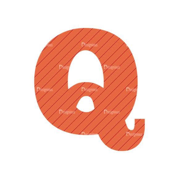 Typographic Characters Vector Set 4 Vector Q Clip Art - SVG & PNG vector