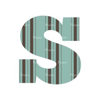 Typographic Characters Vector Set 4 Vector S Clip Art - SVG & PNG vector