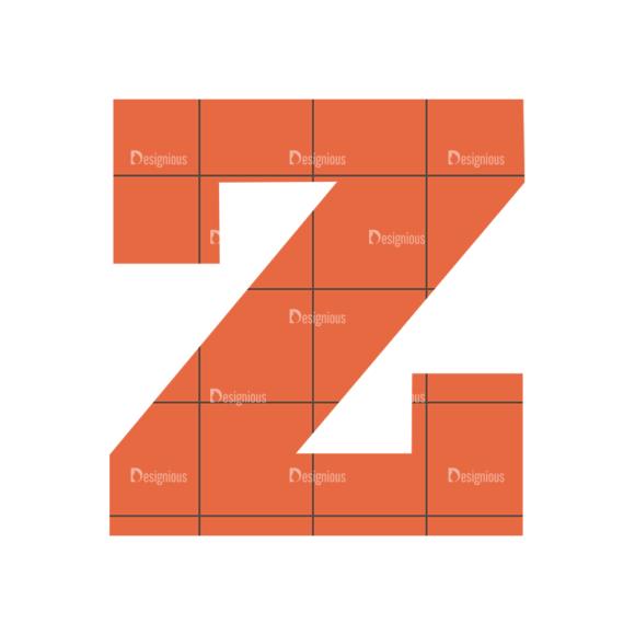 Typographic Characters Vector Set 4 Vector Z typographic characters vector set 4 vector Z