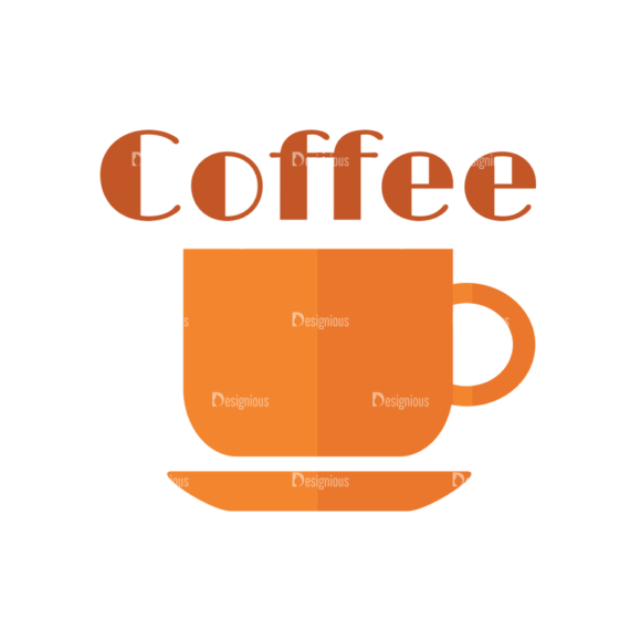 Universal Flat Icons Vector Set 2 Vector Coffee 5