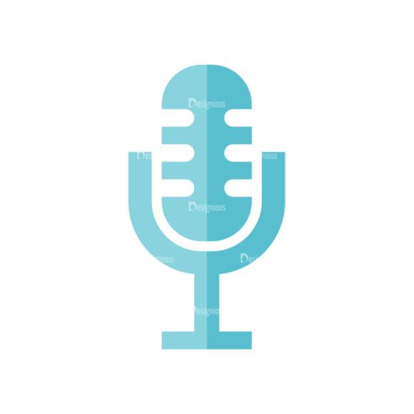Universal Flat Icons Vector Set 2 Vector Microphone universal flat icons vector set 2 vector microphone