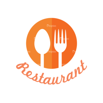 Universal Flat Icons Vector Set 2 Vector Restaurant Clip Art - SVG & PNG vector