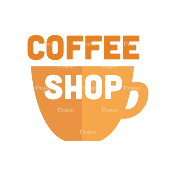 Universal Flat Icons Vector Set 3 Vector Coffee Shop 5