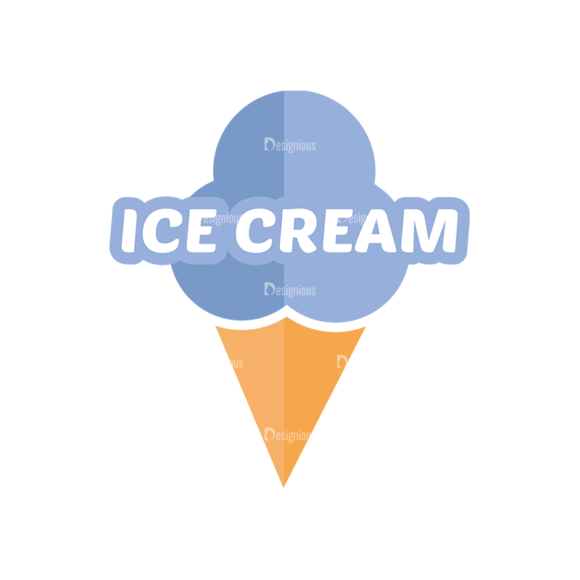 Universal Flat Icons Vector Set 3 Vector Ice Cream Clip Art - SVG & PNG vector