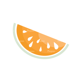 Universal Flat Icons Vector Set 3 Vector Watermelon Clip Art - SVG & PNG vector