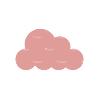 Vacation Emblems Vector Set 1 Vector Cloud Clip Art - SVG & PNG vector