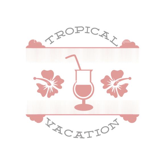 Vacation Emblems Vector Set 1 Vector Summer 06 vacation emblems vector set 1 vector summer 06