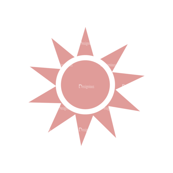 Vacation Emblems Vector Set 1 Vector Sun 5