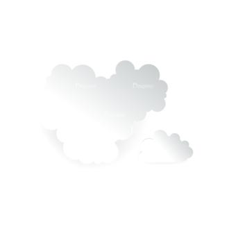 Vector Clouds Set Vector 01 Clip Art - SVG & PNG vector