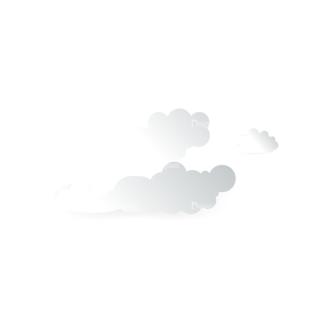 Vector Clouds Set Vector Clouds 03 Clip Art - SVG & PNG vector