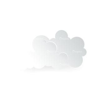 Vector Clouds Set Vector Clouds 04 Clip Art - SVG & PNG vector