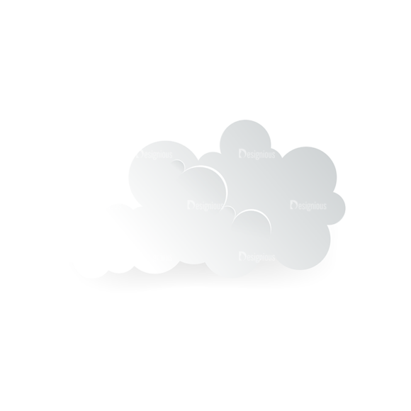 Vector Clouds Set Vector Clouds 04 vector clouds set vector clouds 04