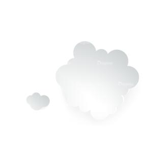 Vector Clouds Set Vector Clouds 05 Clip Art - SVG & PNG vector