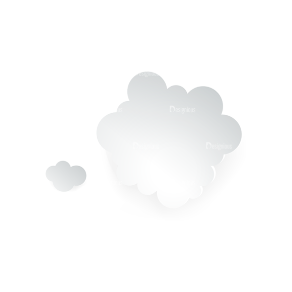 Vector Clouds Set Vector Clouds 05 Clip Art - SVG & PNG vector