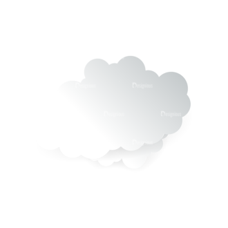 Vector Clouds Set Vector Clouds 06 Clip Art - SVG & PNG vector