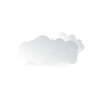 Vector Clouds Set Vector Clouds 07 Clip Art - SVG & PNG vector