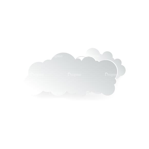 Vector Clouds Set Vector Clouds 07 vector clouds set vector clouds 07