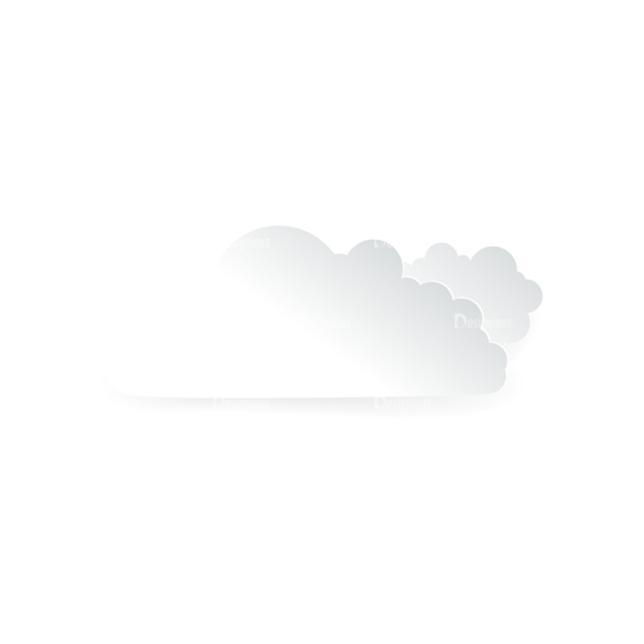 Vector Clouds Set Vector Clouds 08 vector clouds set vector clouds 08