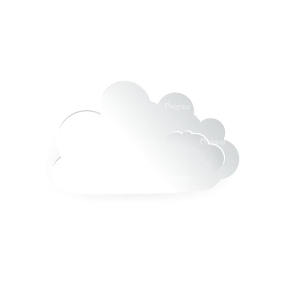 Vector Clouds Set Vector Clouds 09 vector clouds set vector clouds 09