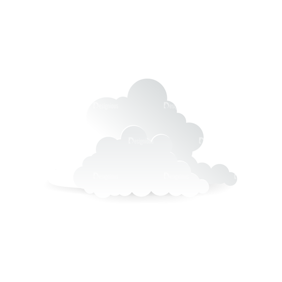 Vector Clouds Set Vector Clouds 11 vector clouds set vector clouds 11