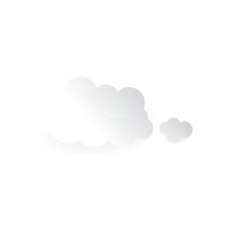 Vector Clouds Set Vector Clouds 12 Clip Art - SVG & PNG vector