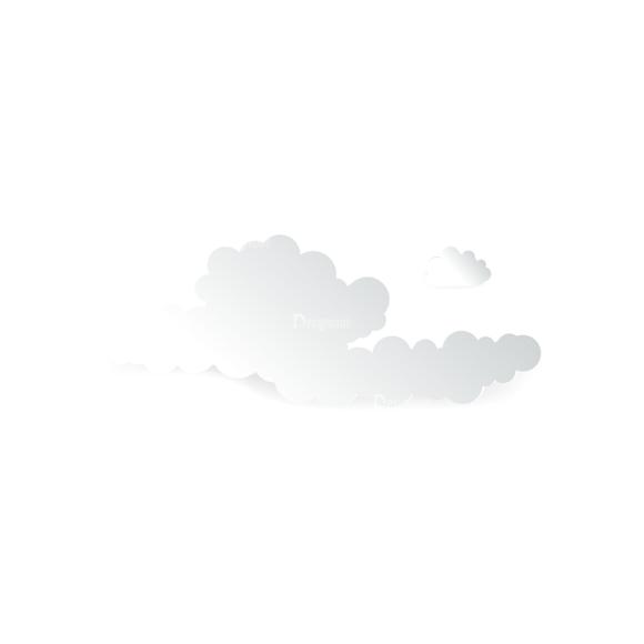 Vector Clouds Set Vector Clouds 13 Clip Art - SVG & PNG vector