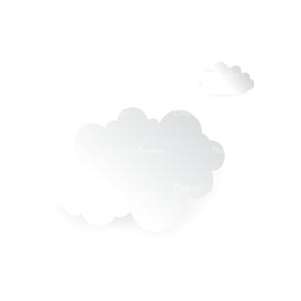Vector Clouds Set Vector Clouds 14 Clip Art - SVG & PNG vector