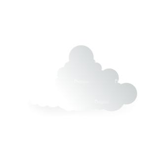 Vector Clouds Set Vector Clouds 15 Clip Art - SVG & PNG vector