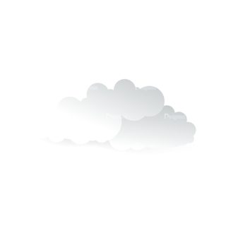 Vector Clouds Set Vector Clouds 16 Clip Art - SVG & PNG vector
