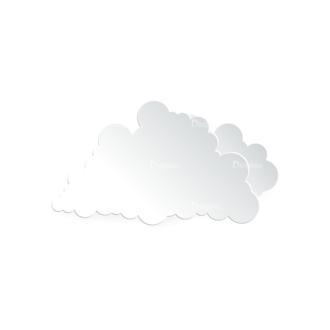 Vector Clouds Set Vector Clouds 17 Clip Art - SVG & PNG vector