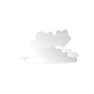 Vector Clouds Set Vector Clouds 18 Clip Art - SVG & PNG vector