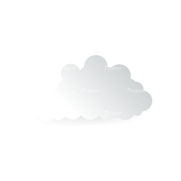 Vector Clouds Set Vector Clouds 19 Clip Art - SVG & PNG vector