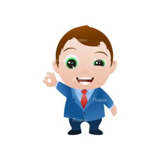 Vector Mascots Business Man Vector Business Man 02 Clip Art - SVG & PNG vector