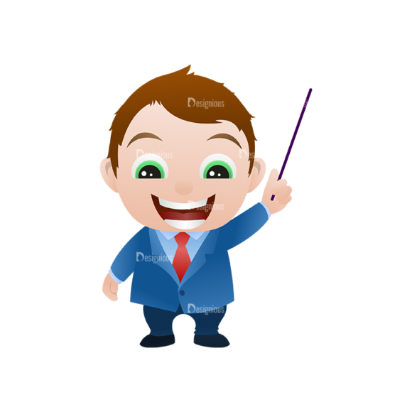 Vector Mascots Business Man Vector Business Man 16 Clip Art - SVG & PNG vector