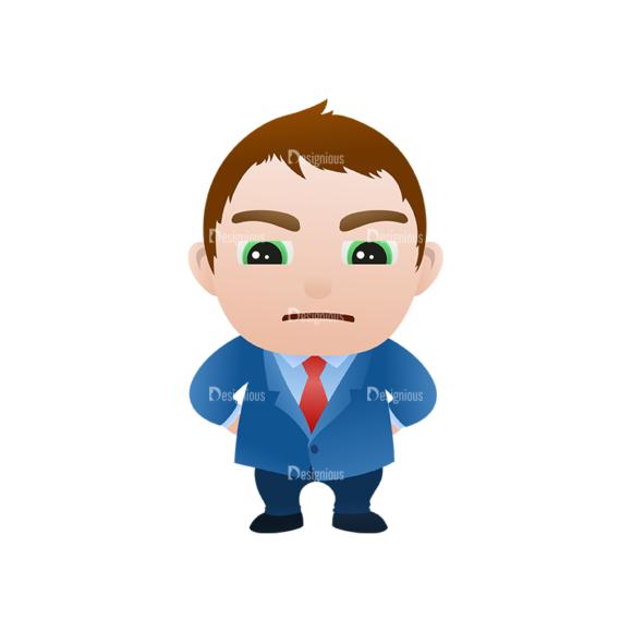 Vector Mascots Business Man Vector Business Man 17 Clip Art - SVG & PNG vector