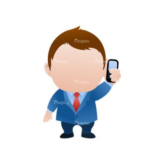 Vector Mascots Business Man Vector Business Man 22 Clip Art - SVG & PNG vector