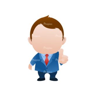 Vector Mascots Business Man Vector Business Man 24 Clip Art - SVG & PNG vector