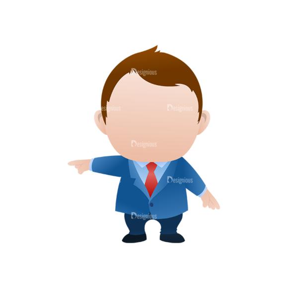 Vector Mascots Business Man Vector Business Man 32 5