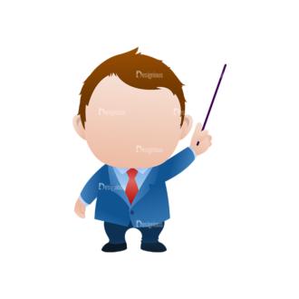 Vector Mascots Business Man Vector Business Man 33 Clip Art - SVG & PNG vector