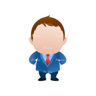 Vector Mascots Business Man Vector Business Man 34 Clip Art - SVG & PNG vector