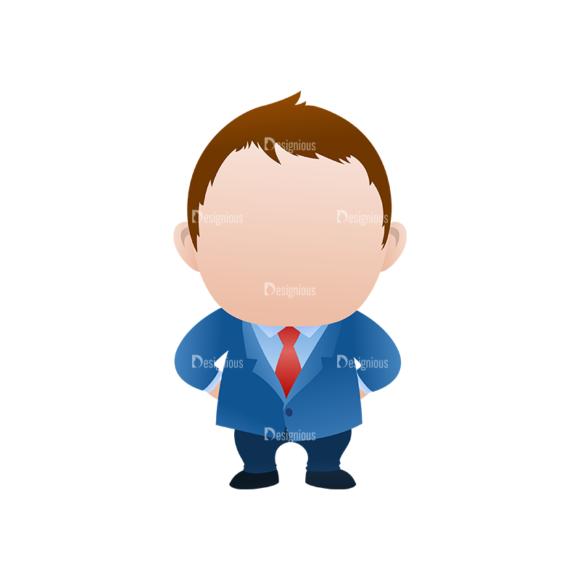 Vector Mascots Business Man Vector Business Man 34 5