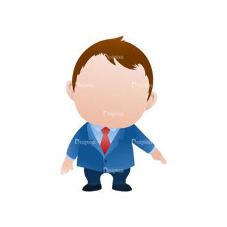 Vector Mascots Business Man Vector Business Man 35 Clip Art - SVG & PNG vector