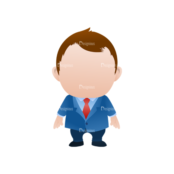 Vector Mascots Business Man Vector Business Man 36 Clip Art - SVG & PNG vector
